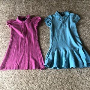 Girl 5 Short Sleeve Ralph Lauren Dresses